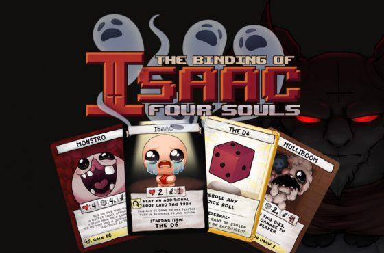 The Binding of Isaac: Four Souls, el juego de mesa de The Binding of Isaac