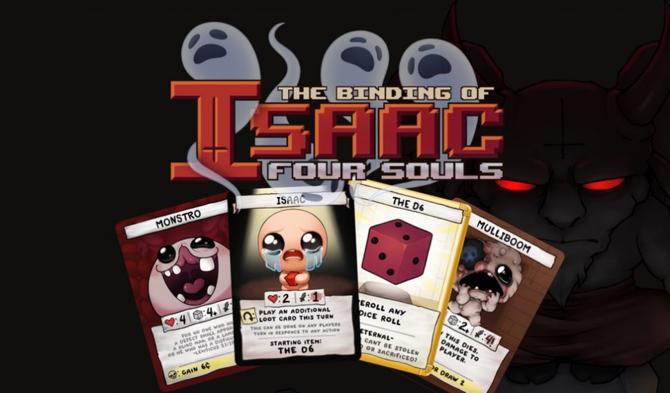 The Binding of Isaac: Four Souls, el juego de mesa de The Binding of Isaac