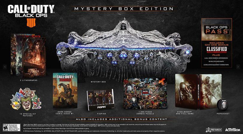 Mystery Box Edition Black Ops 4