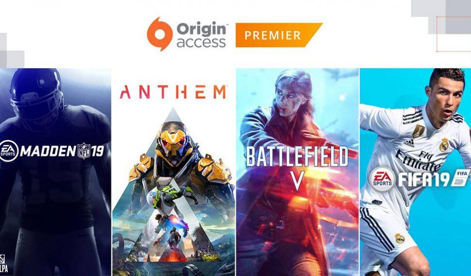 Origin Access Premier: El nuevo servicio de suscripción para PC de Electronic Arts