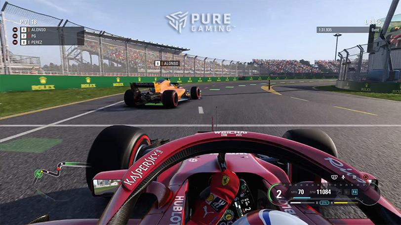 primeras impresiones f1 2018