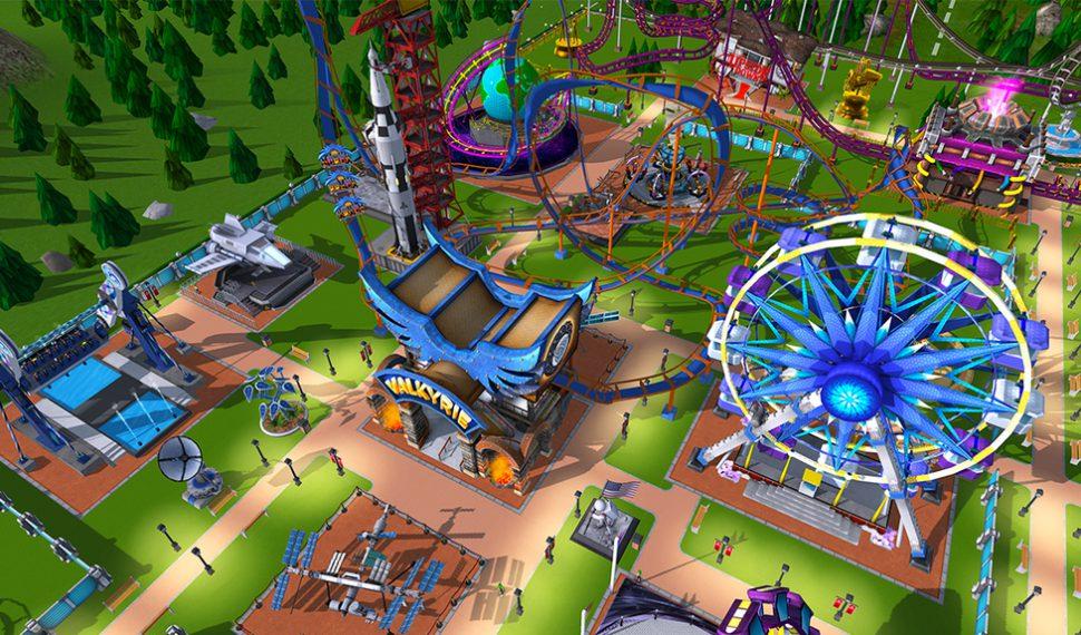 RollerCoaster Tycoon Adventures se lanzará en Nintendo Switch durante este mismo año