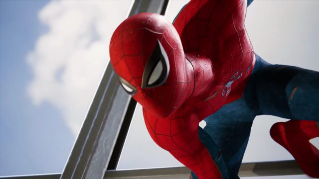 spider-man trailer comic con