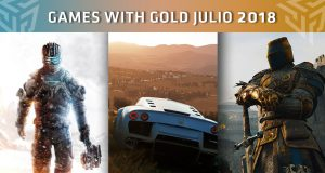 Games With Gold Julio 2018