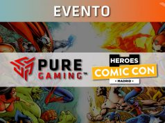 torneos puregaming heroes comic con