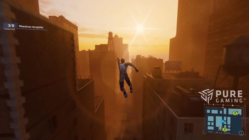 analisis de spiderman juego