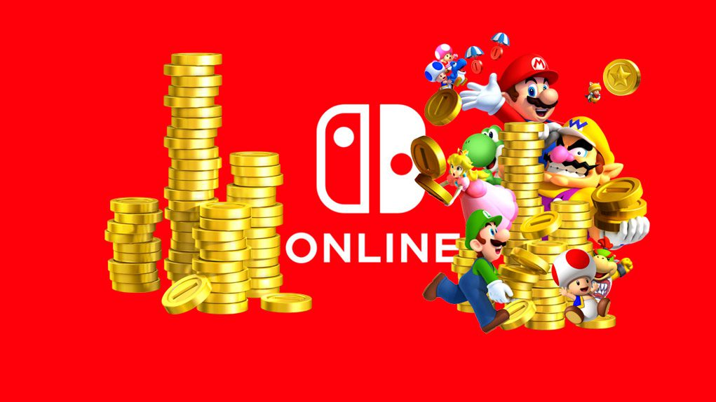 puntos oro nintendo switch online