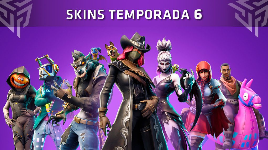 skins fortnite temporada 6