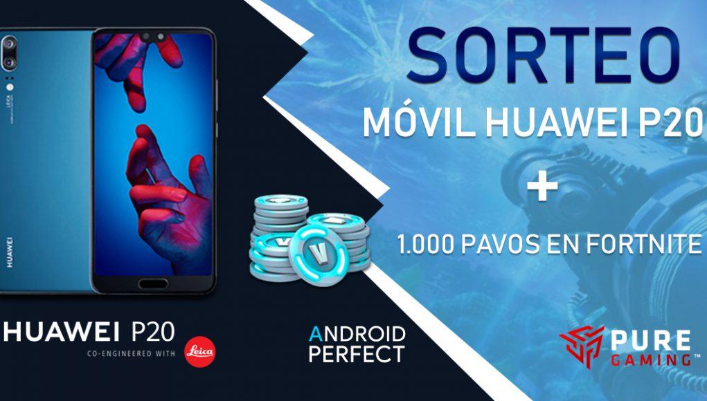 Sorteo Huawei P20