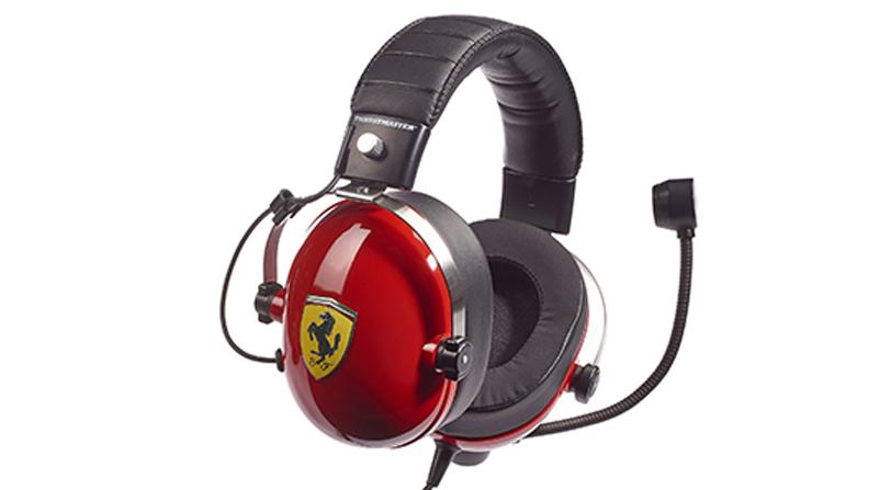 auriculares thrustmaster ferrari
