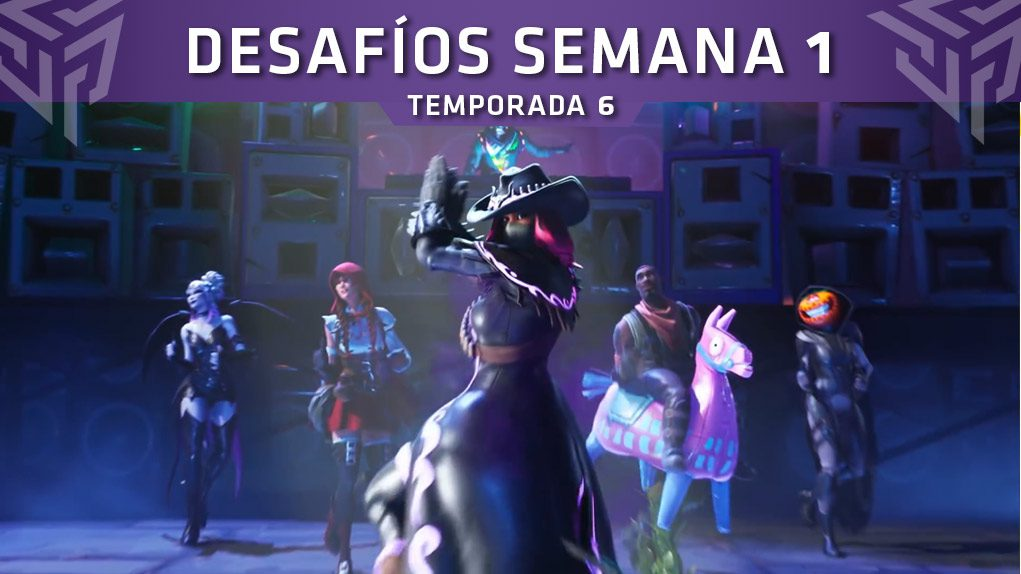 desafios semana 1 fortnite temporada 6