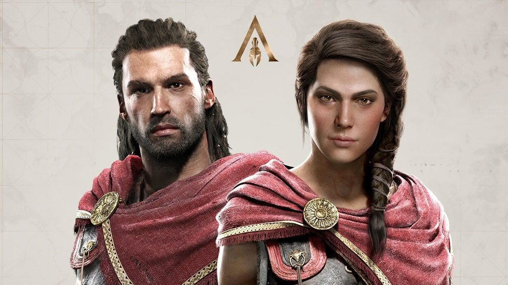 Assassin's Creed Odyssey hombre mujer