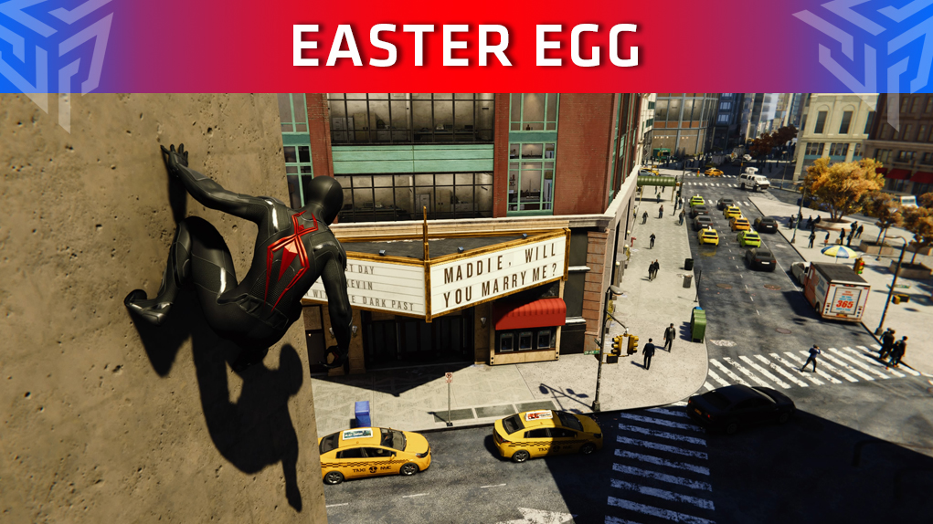 easter egg pedida mano spider-man
