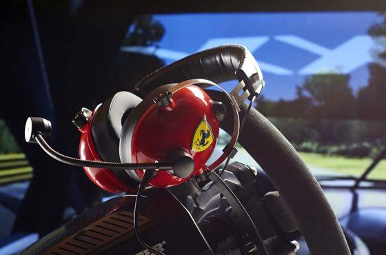 Thrustmaster presenta sus nuevos auriculares edición Scuderia Ferrari