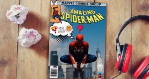 modo foto spider-man