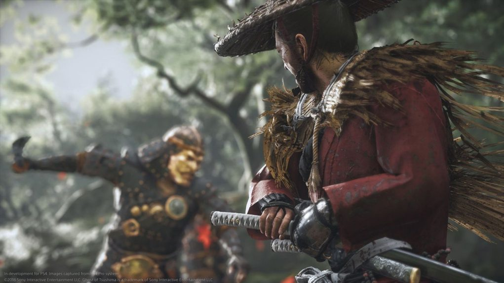 samurais reales Ghost of Tsushima