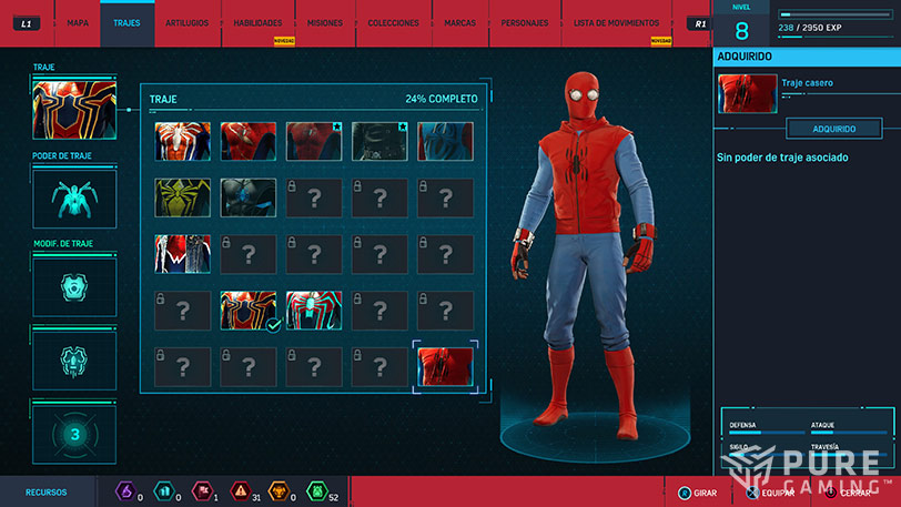 analisis de spiderman juego