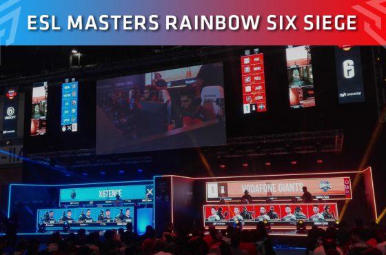 Movistar Riders se proclama campeón de la ESL Masters de Rainbow Six Siege durante la Madrid Games Week