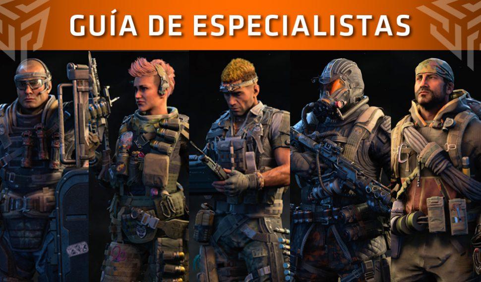 Guía de Call of Duty: Black Ops 4 – Especialistas: Historia, habilidades y consejos (1/2)