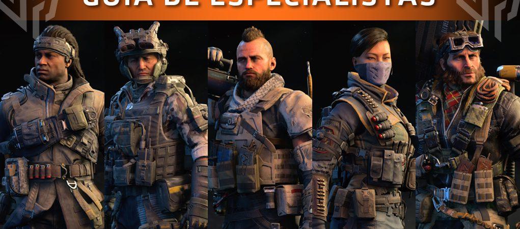 guía especialistas call of duty black ops 4