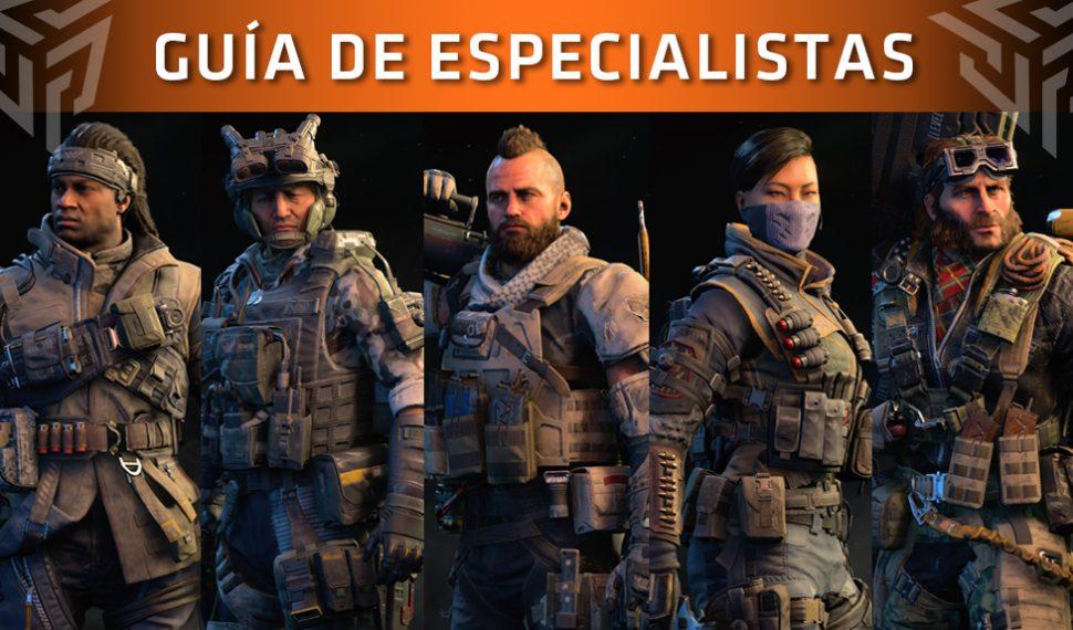 Guía de Call of Duty: Black Ops 4 – Especialistas: Historia, habilidades y consejos (2/2)
