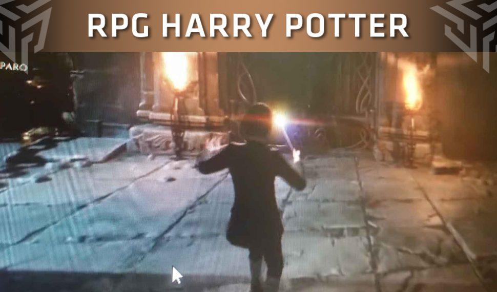 Se filtran las primeras imágenes de un posible RPG de Harry Potter