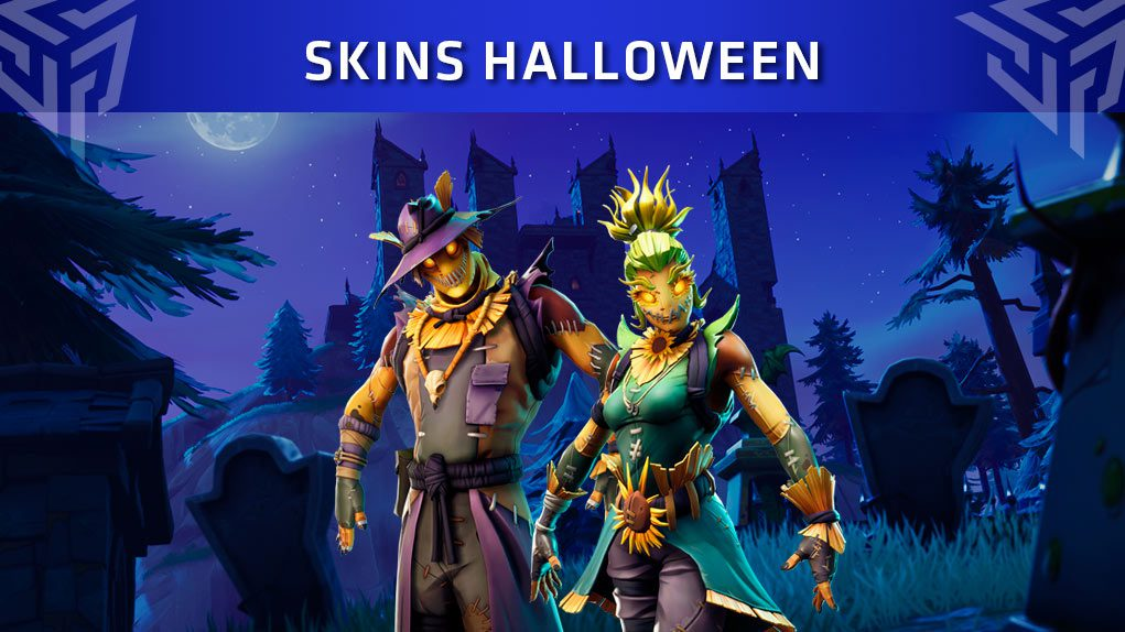 skins halloween fortnite