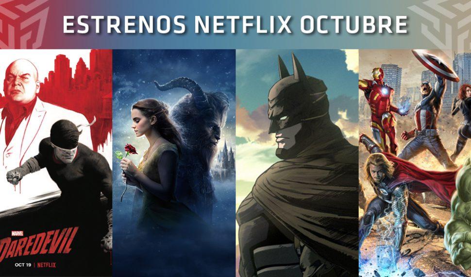 [2018] Ya conocemos las novedades de Netflix para el mes de octubre