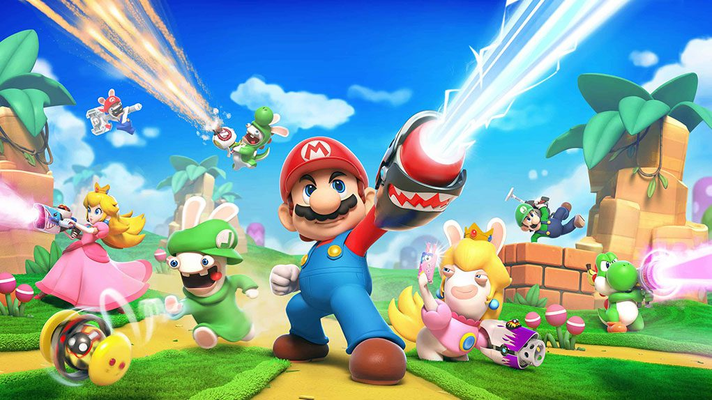 secuela mario rabbids modo battle royale
