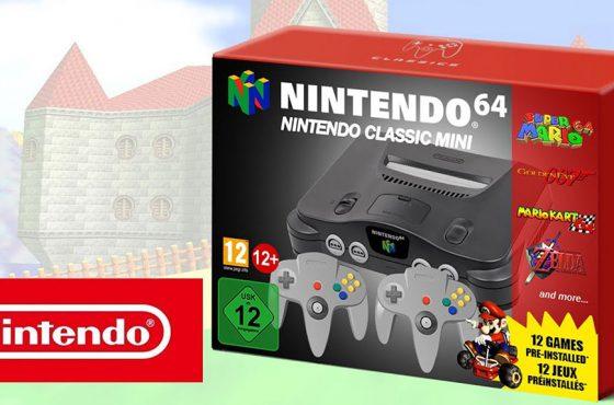 Se filtran los posibles diseños de Nintendo 64 Mini