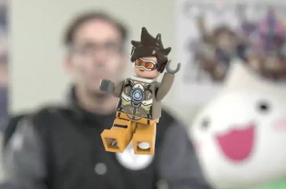 Blizzard nos muestra los frutos de la unión entre Overwatch y Lego