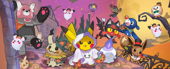 pokemon evento halloween