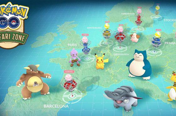"""Pokémon GO – El evento """"Zona Safari"""" incorpora nuevos Pokémon variocolor"""