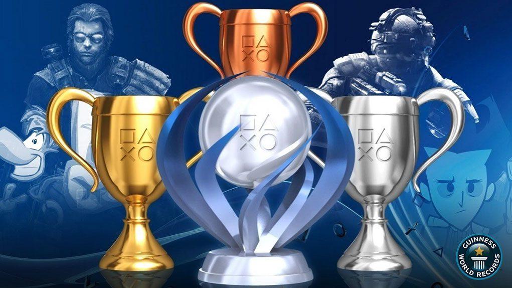 récord trofeos platino playstation