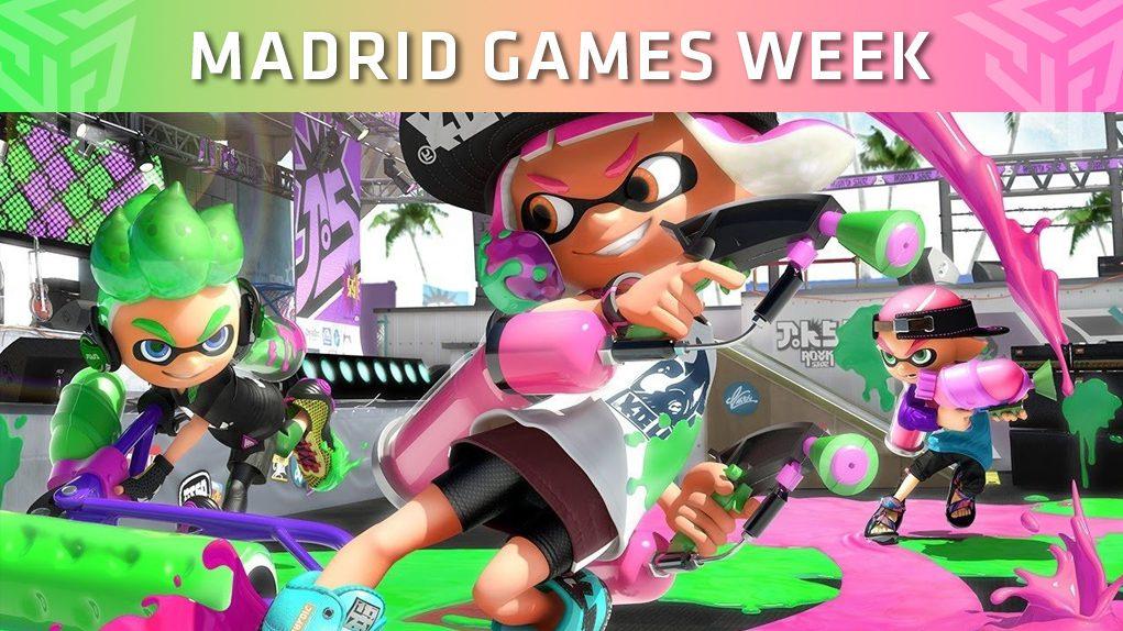 madrid games week 2018 splatoon 2