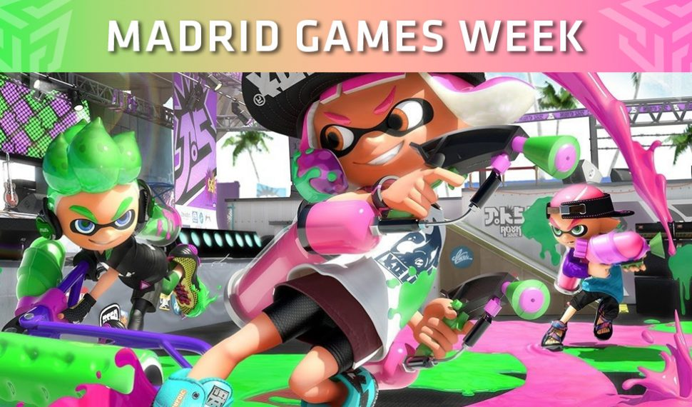 La Madrid Games Week acogerá el torneo clasificatorio de Splatoon 2 European Championship 2019