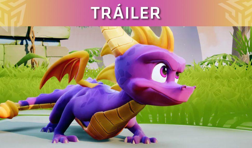 Así luce el nuevo tráiler de lanzamiento de Spyro Reignited Trilogy
