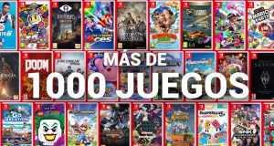 nintendo switch 1000 juegos