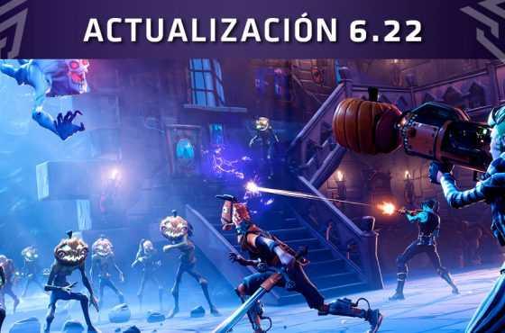 Fortnite: Battle Royale – Actualización 6.22 Cambios y novedades