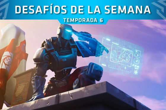 Fortnite: Desafíos de la Semana 8 (Temporada 6)
