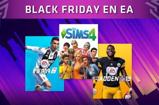 Ofertas de Electronic Arts durante el Black Friday