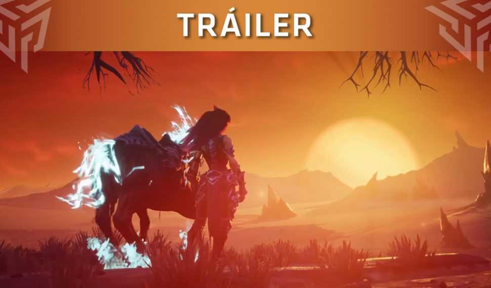 Darksiders III presenta un tráiler sobre el caballo de Furia