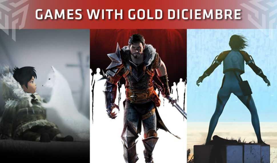 Xbox Live Gold: Juegos gratuitos durante el mes de Diciembre