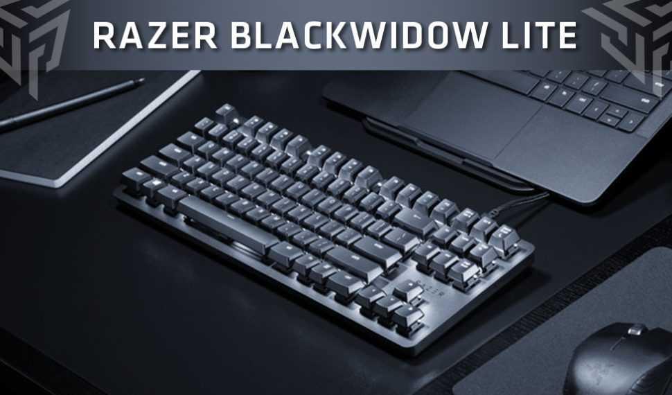 Razer lanza su nuevo teclado híbrido BlackWidow Lite