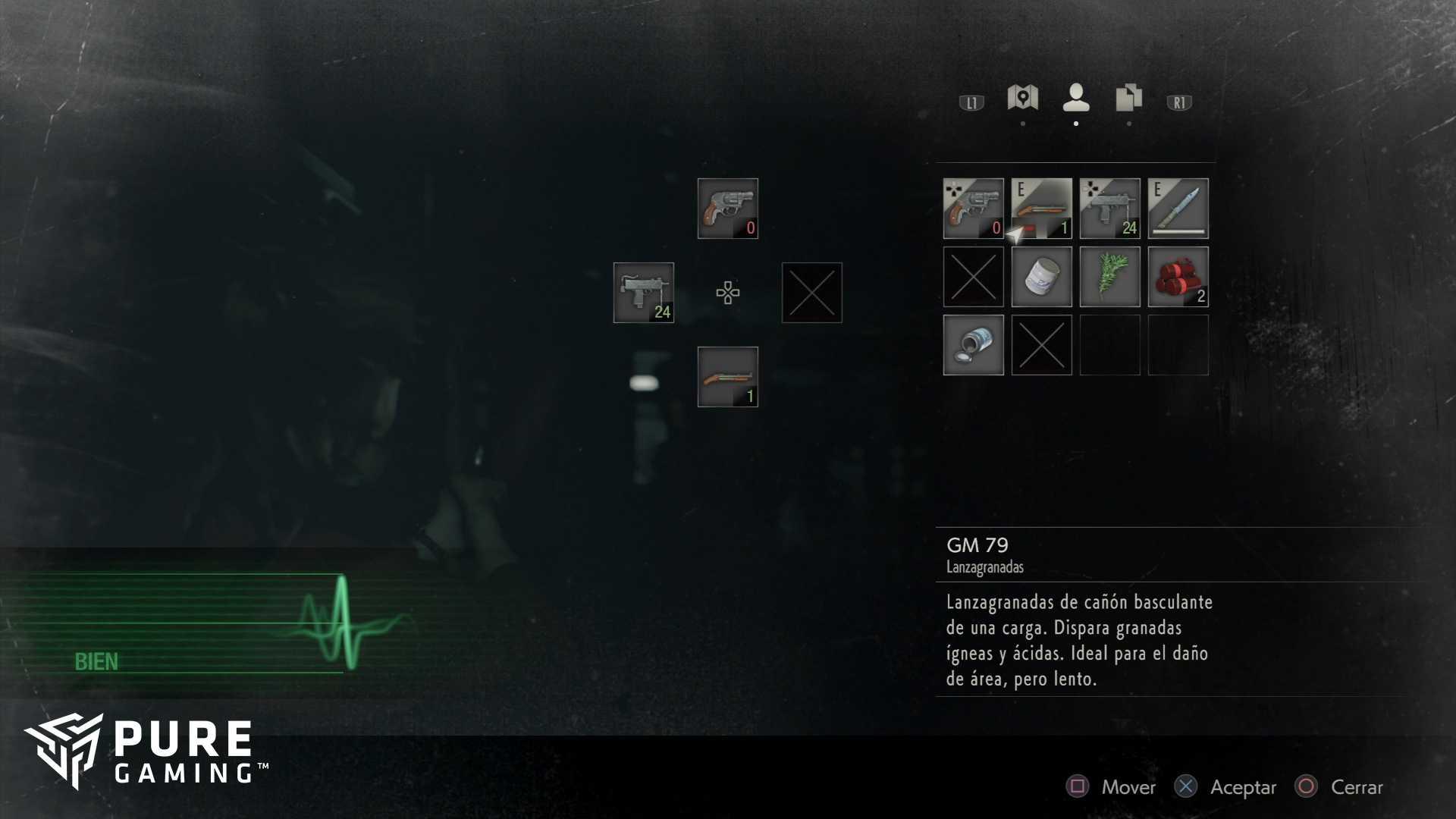 RESIDENT EVIL 2 remake claire municion