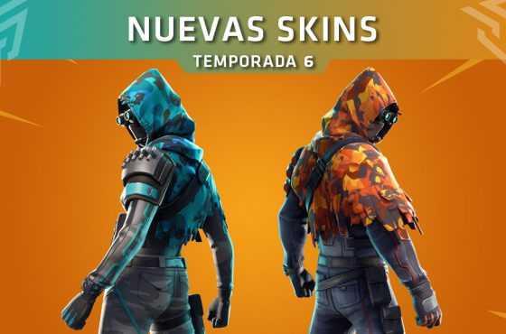 Fortnite presenta las nuevas skins que llegan con la Actualización 6.31