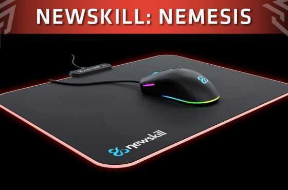 Newskill lanza su nueva alfombrilla RGB de microfibras prensadas