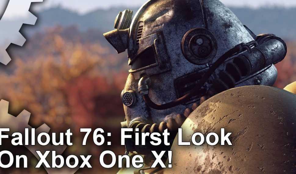 Así se ve Fallout 76 en Xbox One X… ¿Peor que Fallout 4?