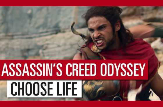 Assassin's Creed Odyssey presenta un espectacular tráiler de acción real