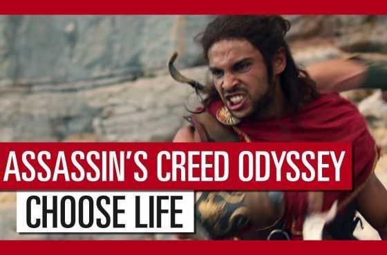 Assassin's Creed Odyssey presenta un espectacular tráiler de acción real